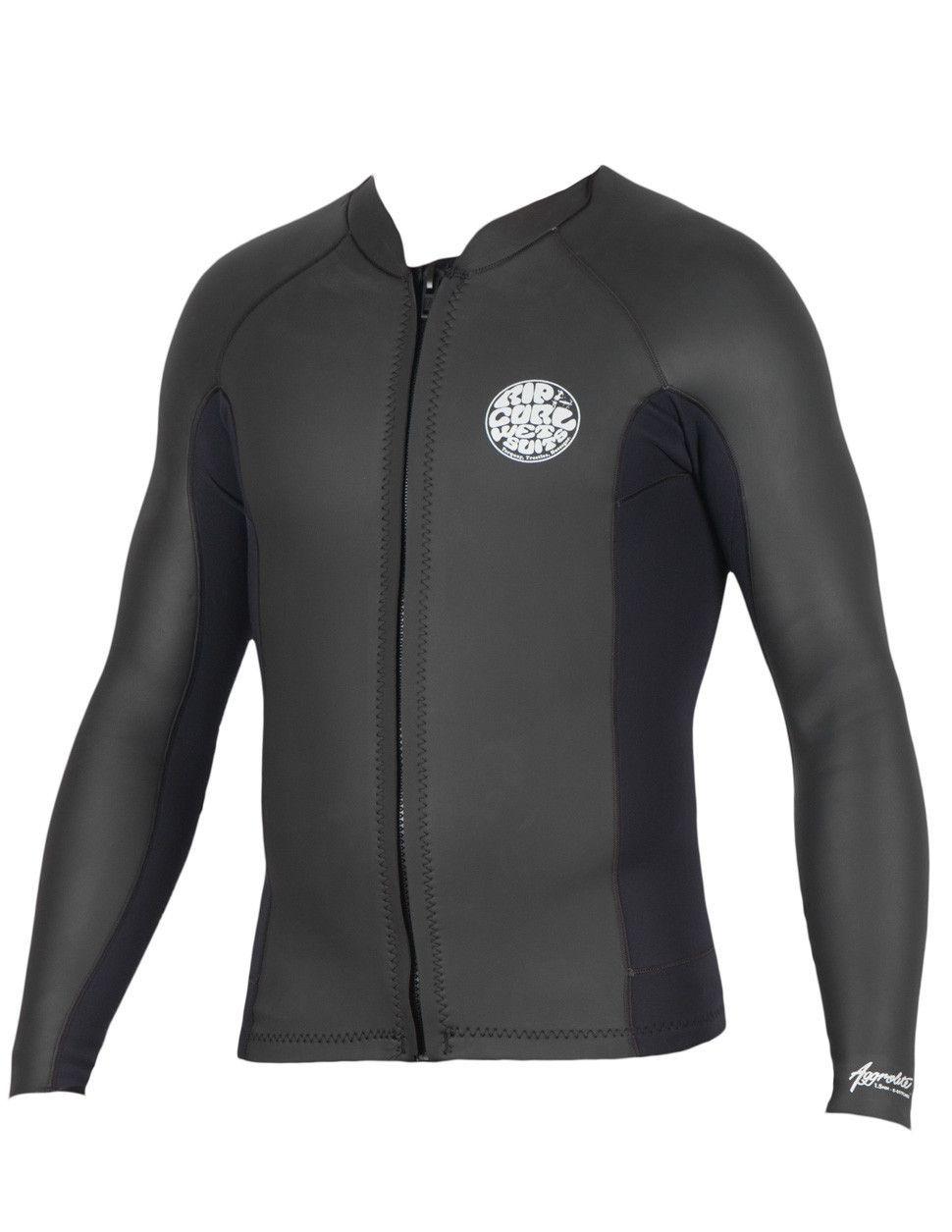 428480103a62 Rip Curl Mens Wetsuit Aggrolite Long Sleeve Front Zip Jacket 1.5mm