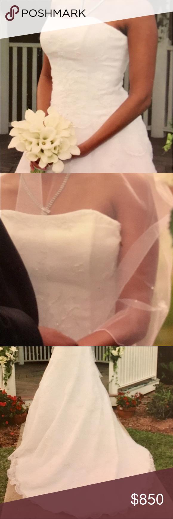 The bustle wedding dresses  Wedding dress  Bustle Neckline and Elegant