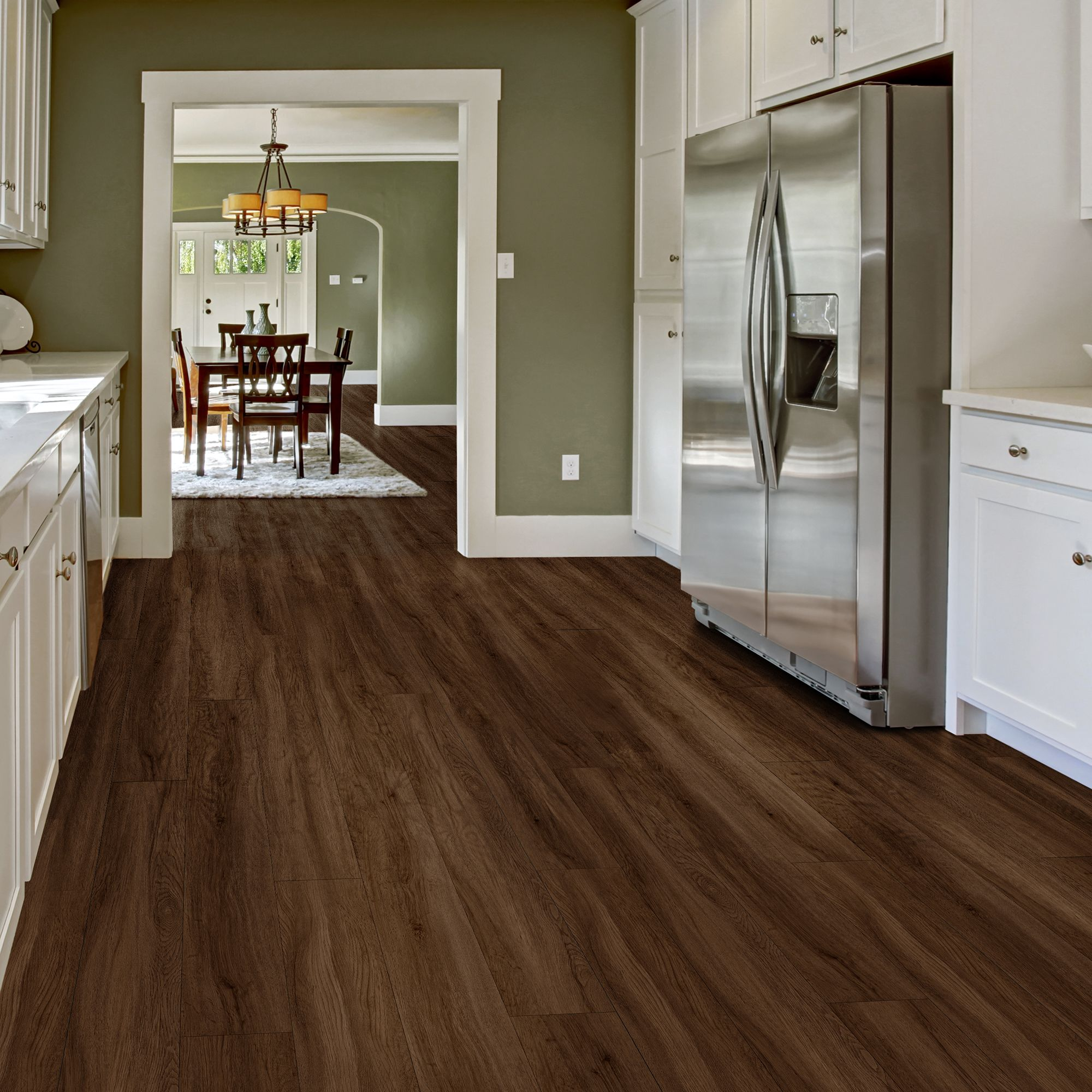 Added this Allure ISOCORE Vinyl Plank DIY Flooring to my