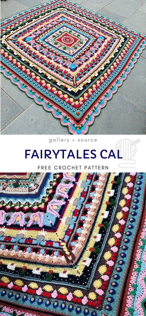 Fantastic Lovely Blanket CALs