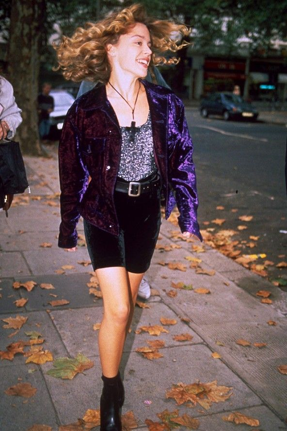 Kylie Minogue Crushed Velvet Cycling Shorts I Didn T