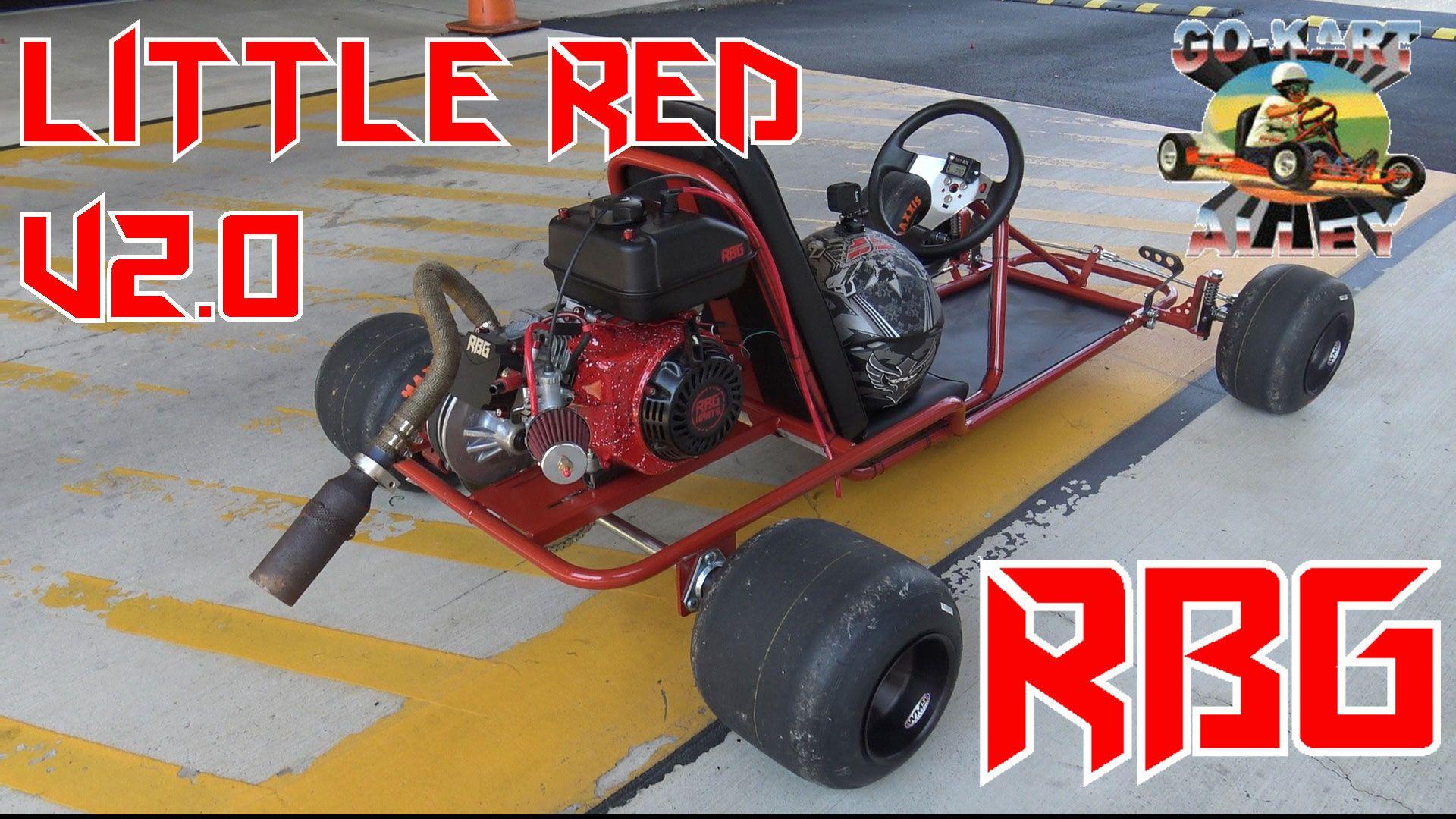 Red Beard's Garage builds a Go-Kart Alley frame  He puts a built