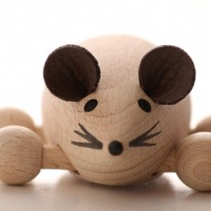 Rollie The Roller Mouse is very Mischievous.  Loves Cheese and Children.