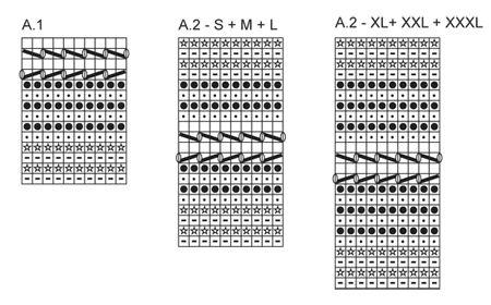 DROPS poncho trabalhado lado, com padrão de textura em Alpaca Bouclé, Vivaldi e Lace. Tamanho: S - XXXL. ~ DROPS Design