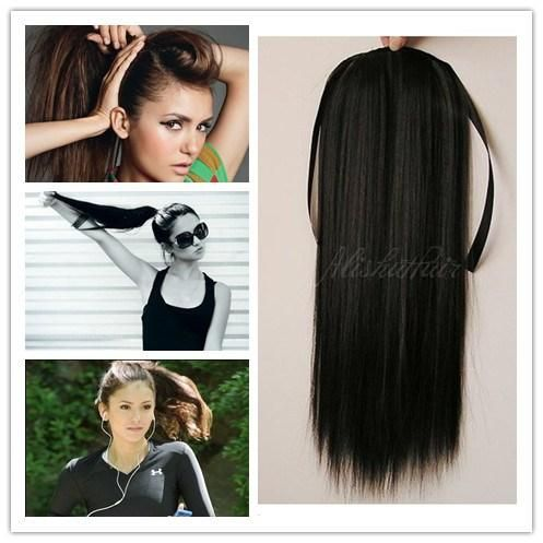 100 natural ponytail extensions remy hair straight weave bundles 100 natural ponytail extensions remy hair straight weave bundles 70g16 30 human hair pmusecretfo Image collections