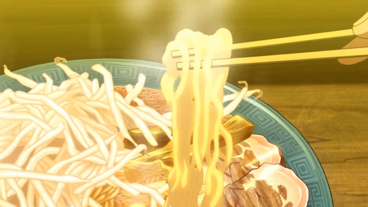 Itadakimasu Anime! (Ramen! Space Dandy, Episode 2) Anime