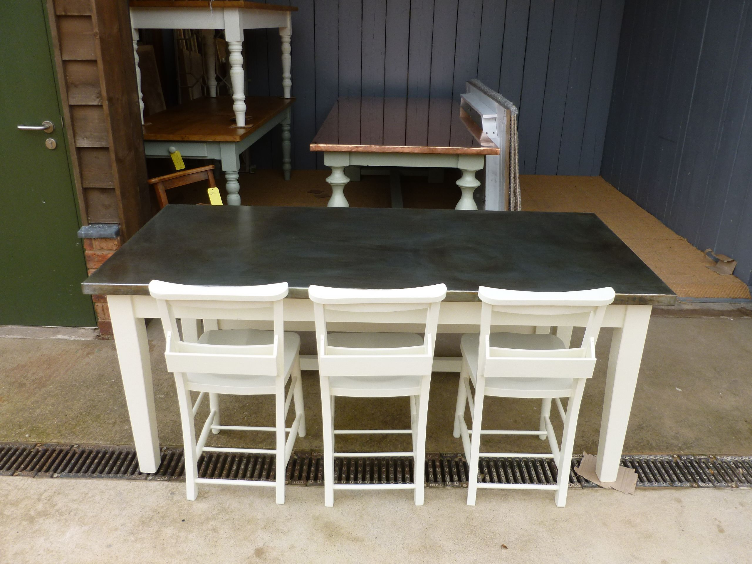 Fantastic furniture hallway table  UKAA have made this bespoke table for a customer It has a lovely