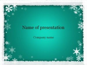 Winter Powerpoint Template  Templates    Template