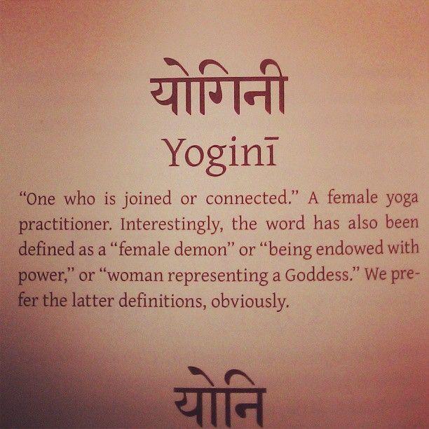 Yogini : Image source unknown.  #Yoga