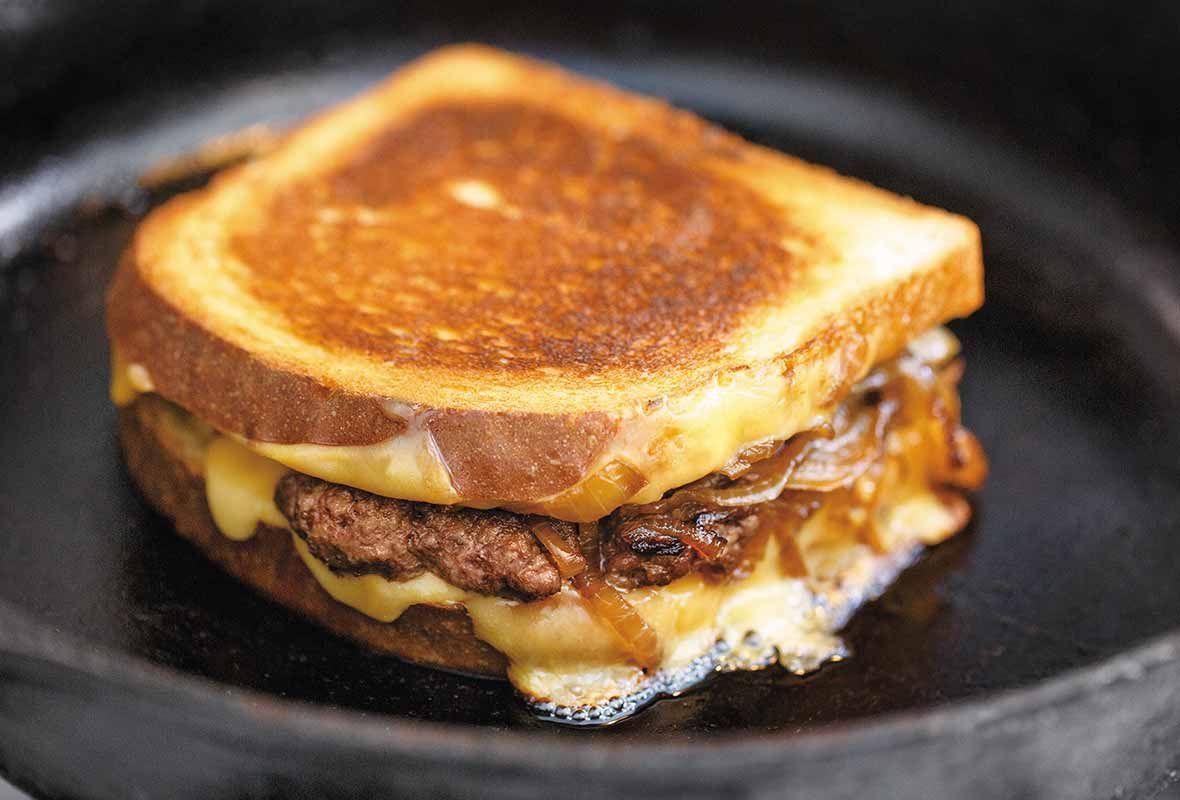 how to make a patty melt sandwich