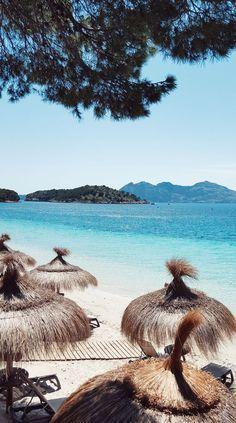Karibisches Flair An Der Playa De Formentor Auf Mallorca Mit