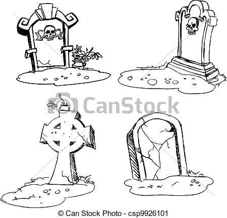 Nagrobek1 Halloween Drawings Tombstone Tattoo Drawings