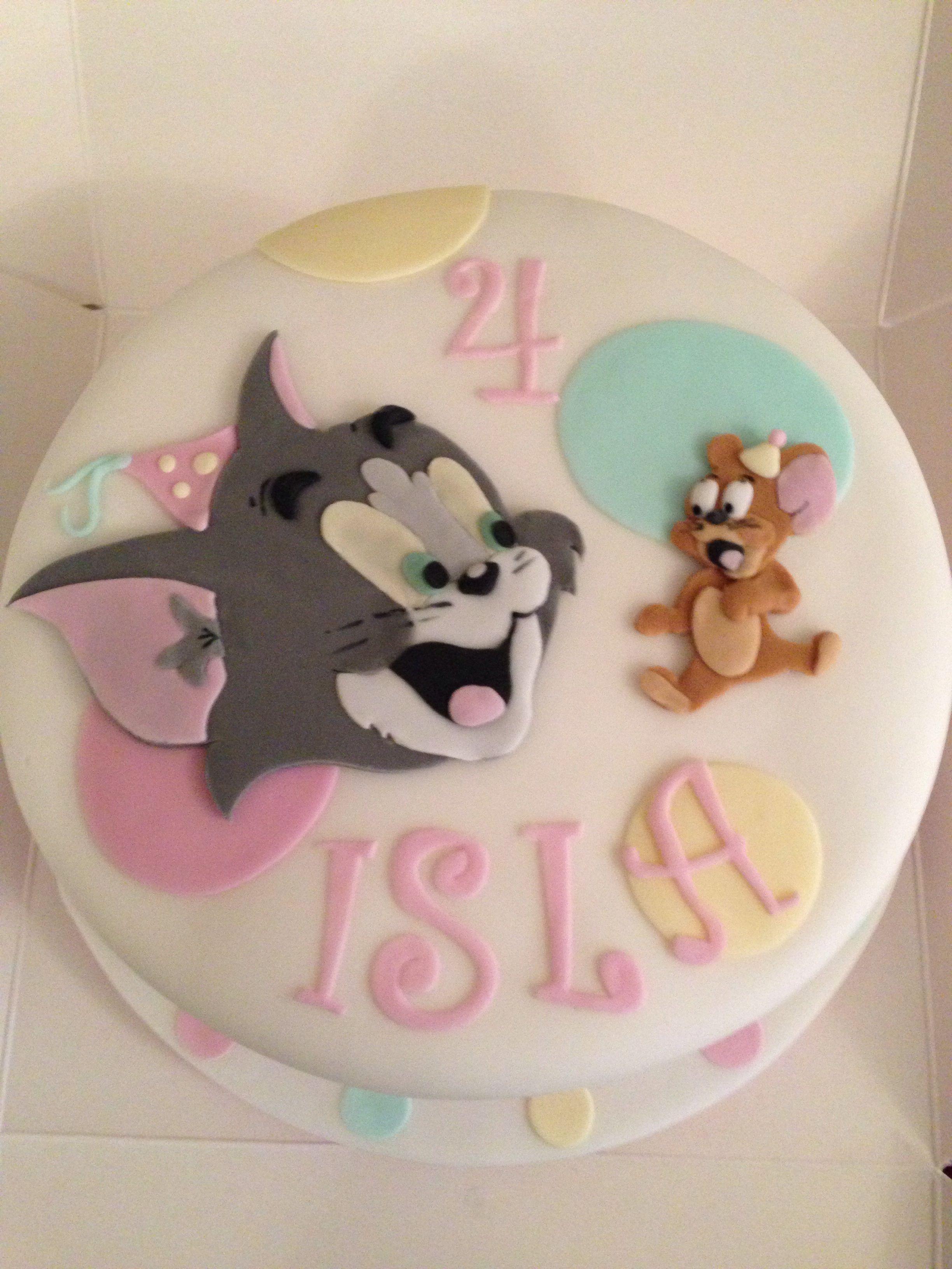 Tom and jerry birthday cake Birthday Pinterest Birthday
