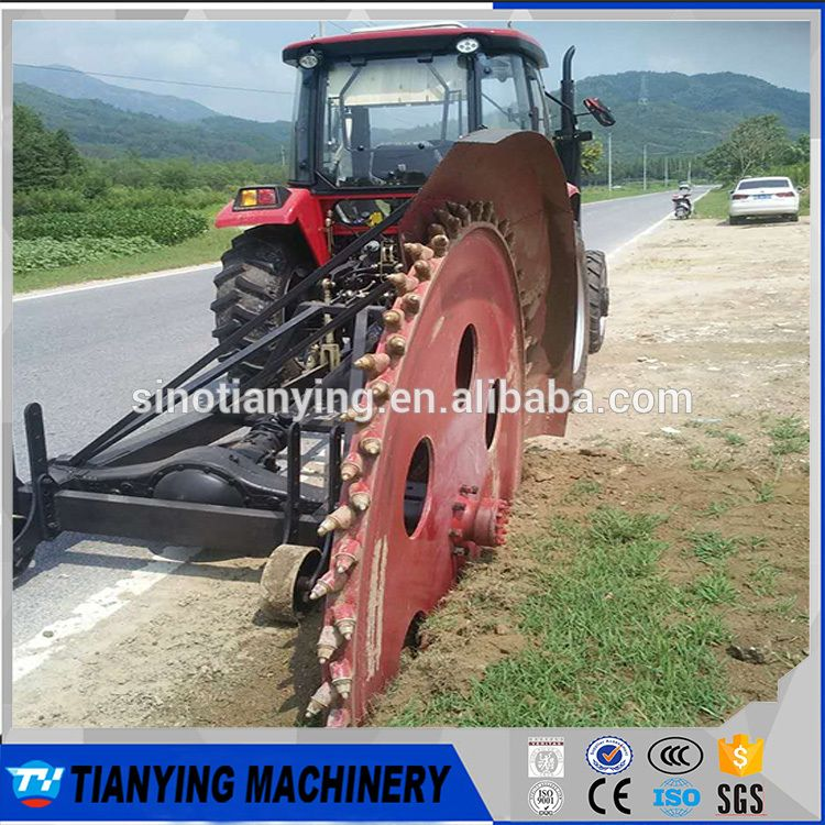 Compact Tractor mounted Digging machine/ Ditching machine/ Trencher
