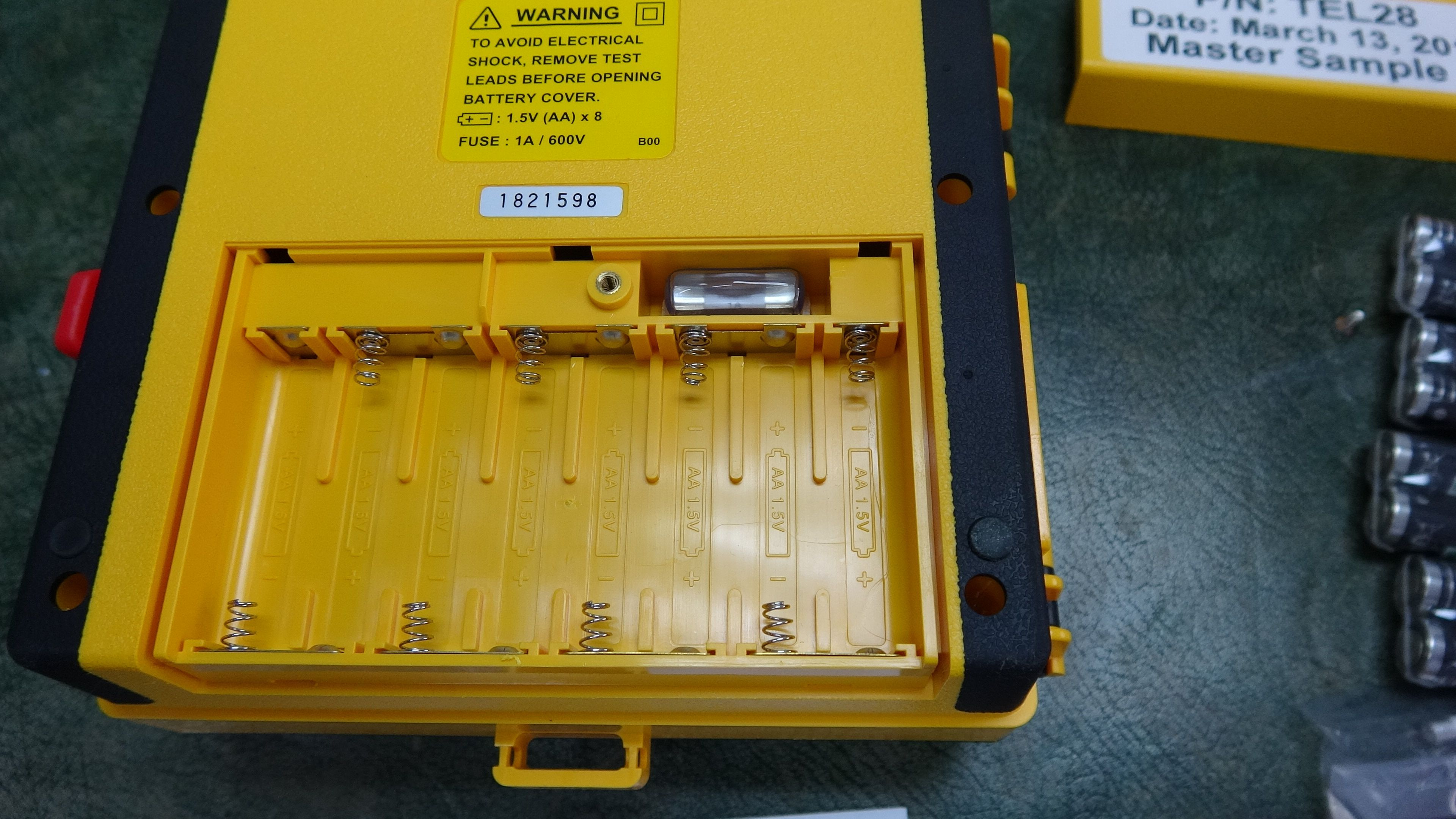 The Fuse of your TOPTRONIC TEL28 is located inside the ... Yellow Test On Fuse Box on