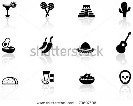 Mexican Culture Symbol Stock Vector 70697398 Shutterstock