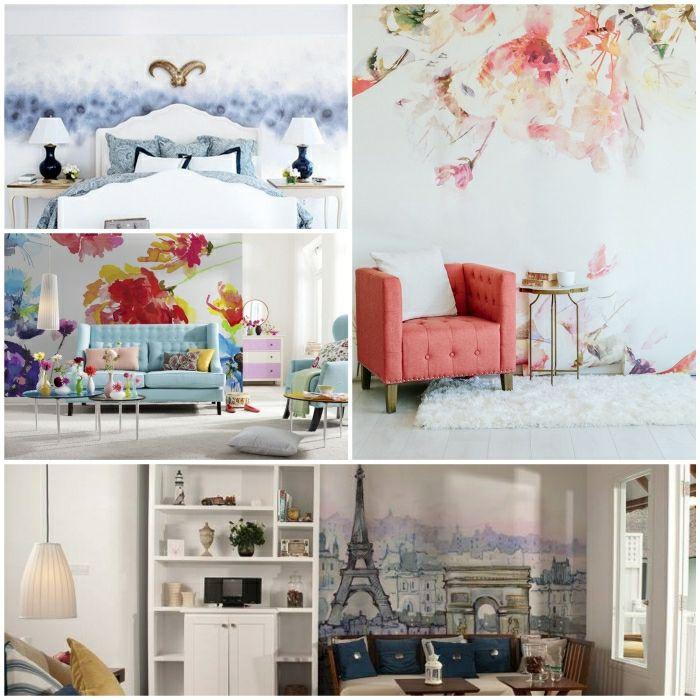 wandfarben-ideen-wandgestaltung-coole-wanddekojpg (700×700 - schlafzimmer wandfarben ideen