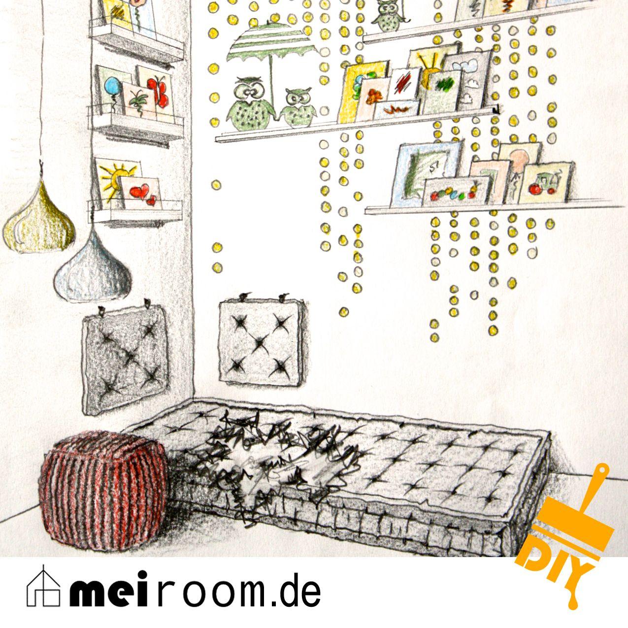 eine leseecke f r kinder mit nur wenigen handgriffen. Black Bedroom Furniture Sets. Home Design Ideas