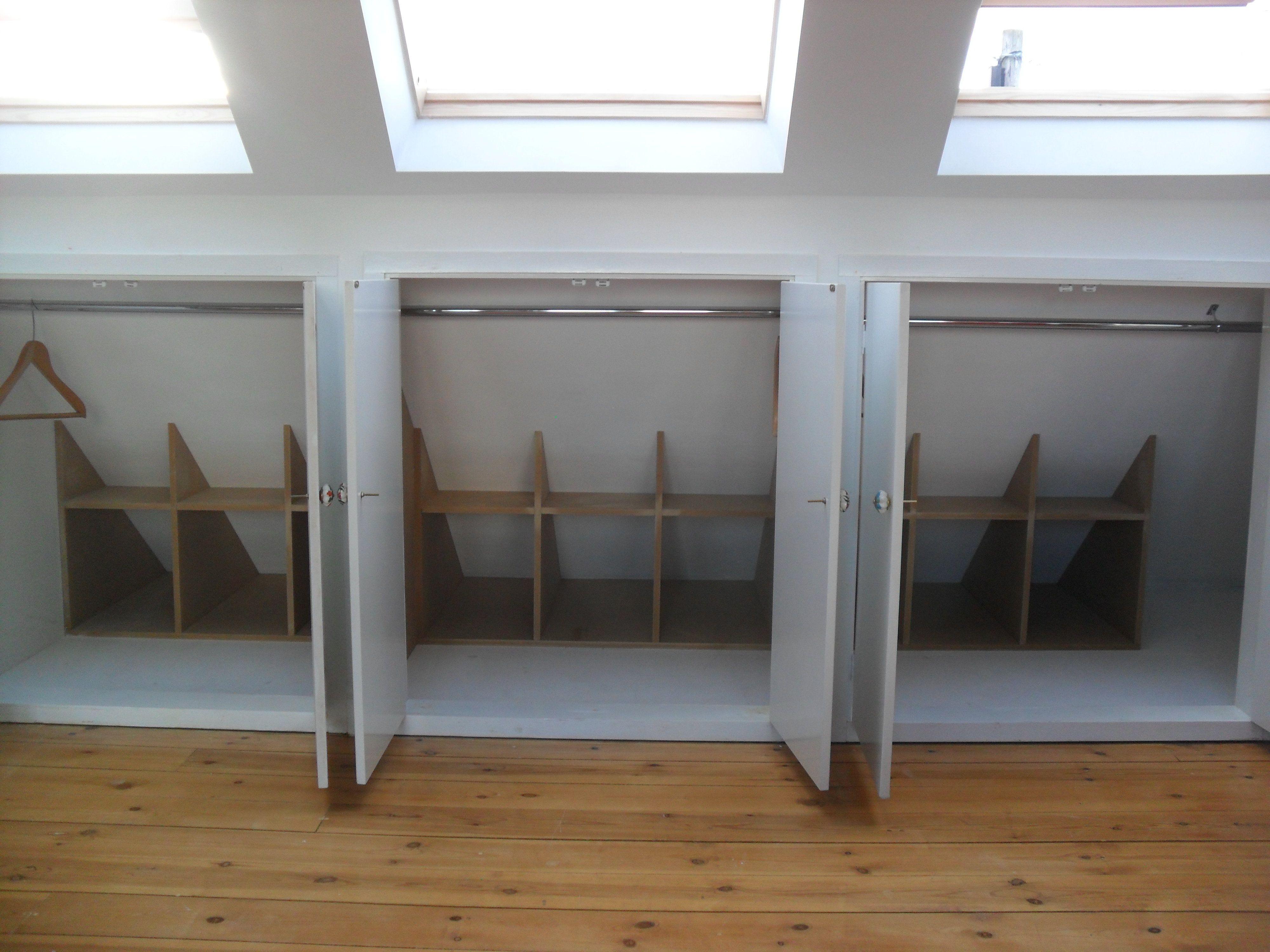 Attic Eave Closet Loft Spaces Bedroom Loft Loft Conversion Bedroom