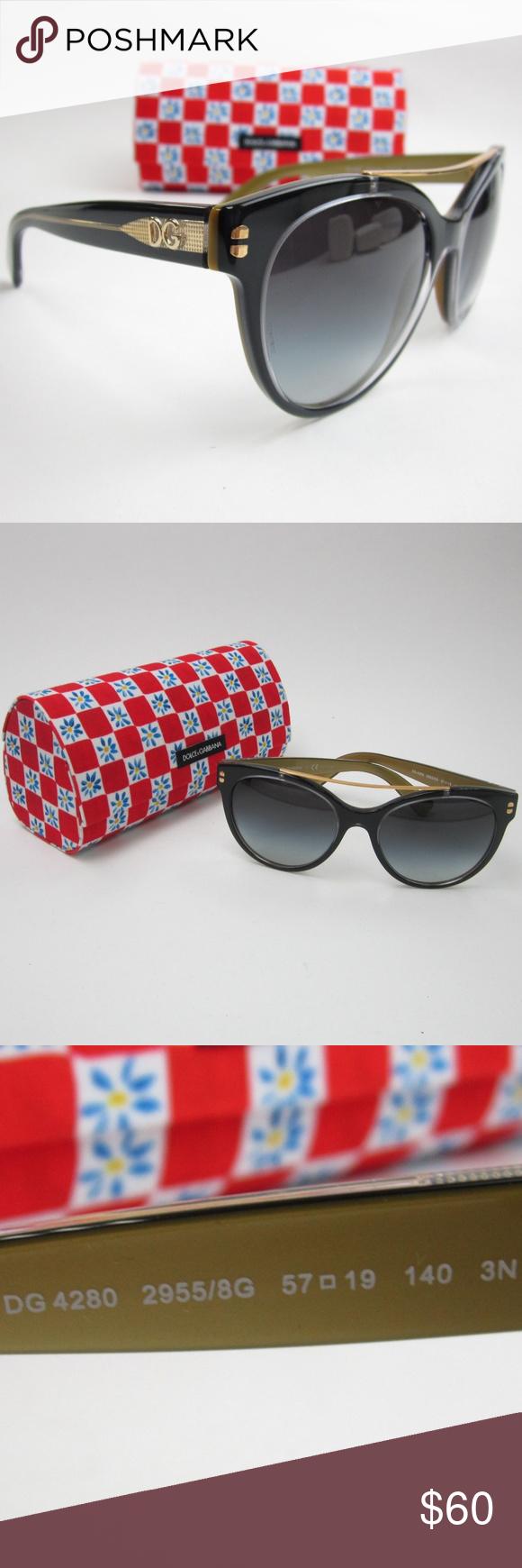 a4b58e564bdd Dolce  amp  Gabbana DG4280 Women s Sunglasses STI857 Dolce  amp  Gabbana  DG4280 2955