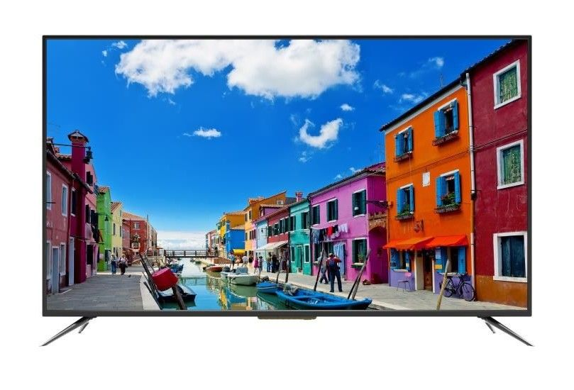 continental edison tv 4k uhd 140 cm pas