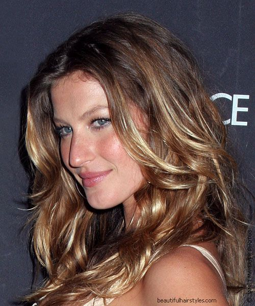 I\'m told this is a good example of the balayage hair technique ...