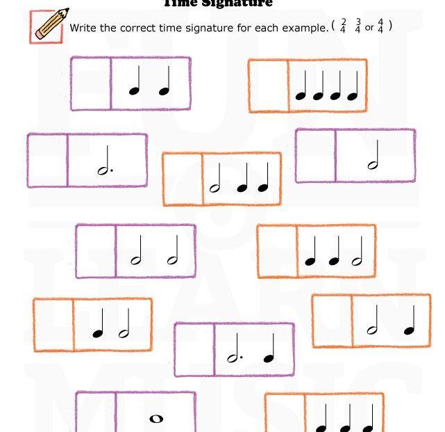 Worksheets Time Signature Worksheet 1000 images about time signature on pinterest music worksheets and for kids