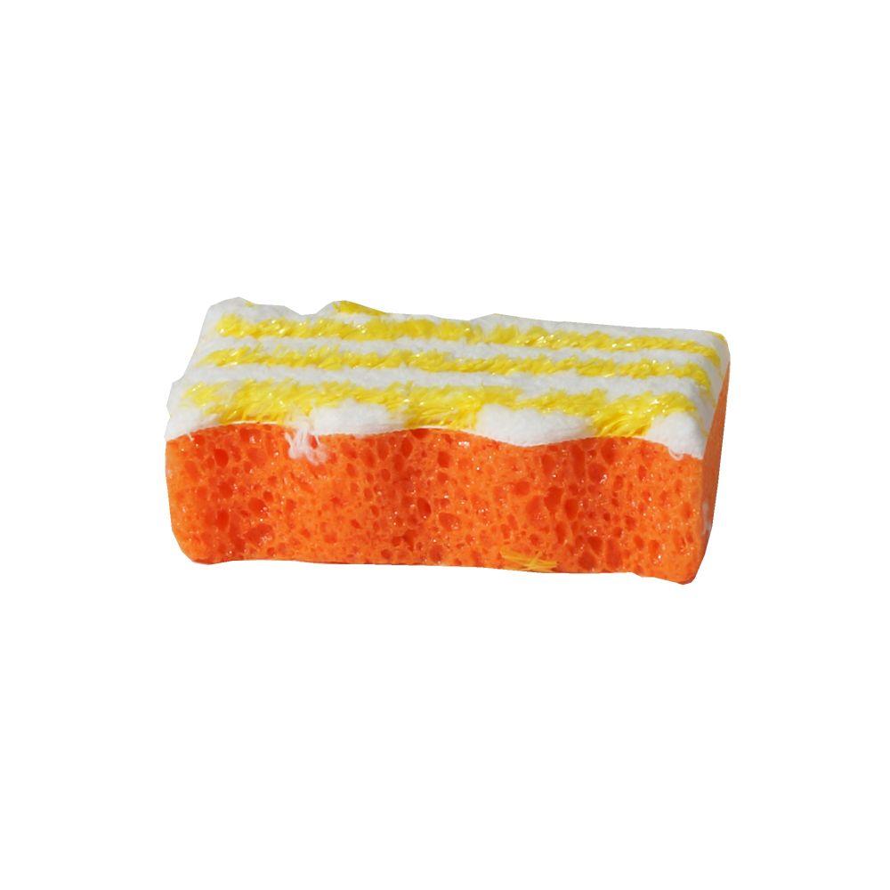 Window Screen Sponge Orange/White, $3.49