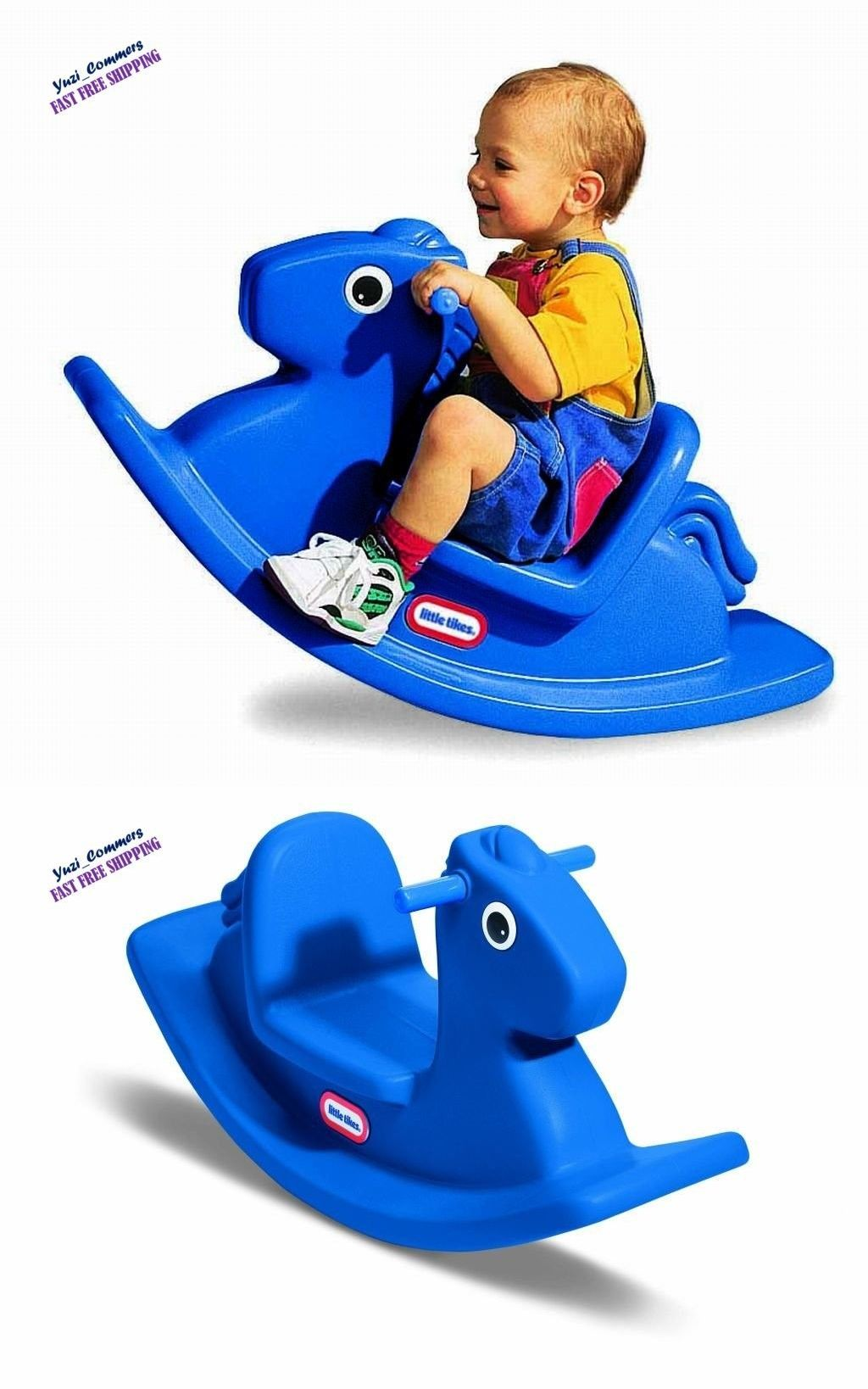 Child Size 2574: Little Tikes Rocking Horse Children Toy Outdoor Backyard  Play Toy For Kids