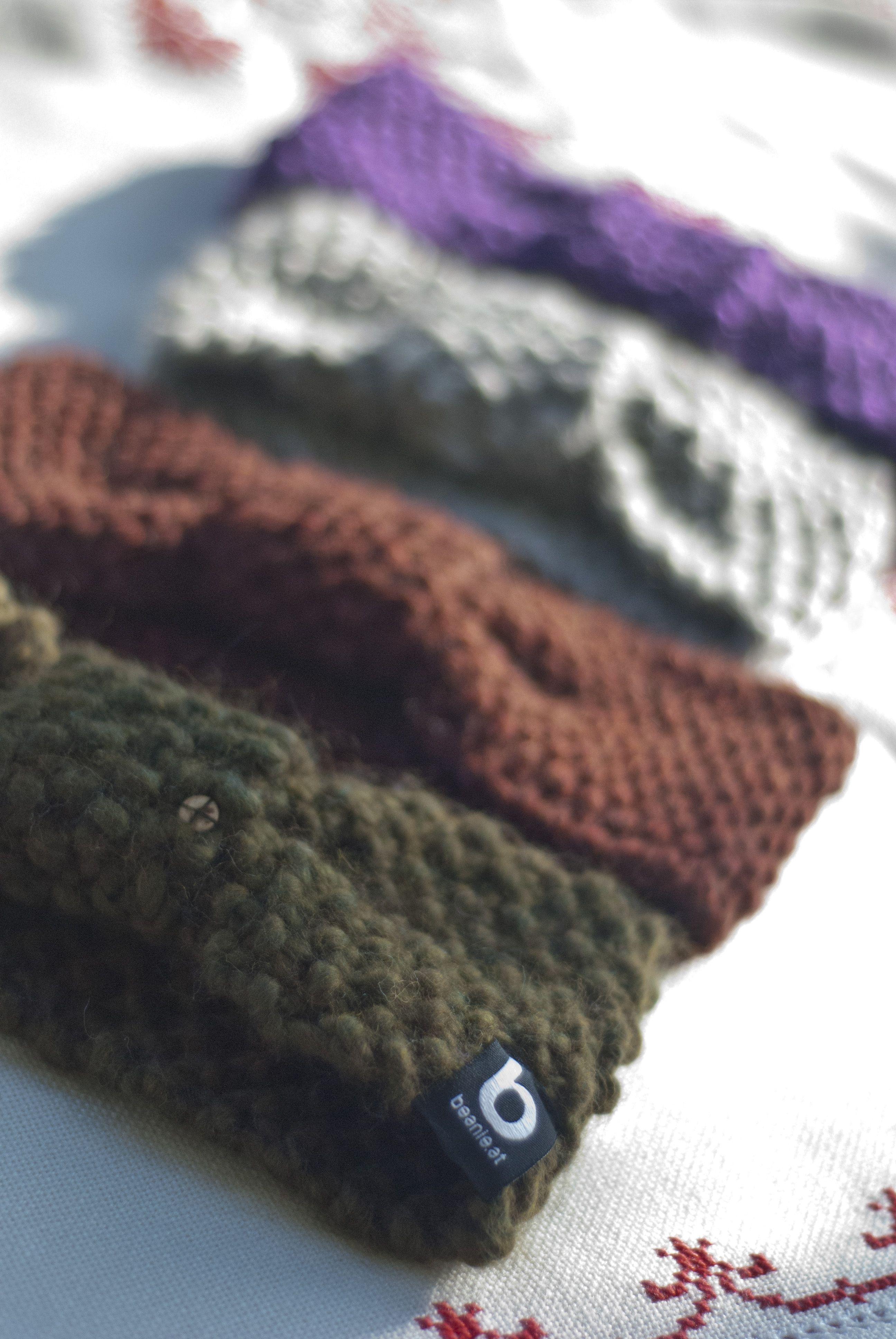 headband, 100% merino wool www.beanie.at #knit #heandband #merino