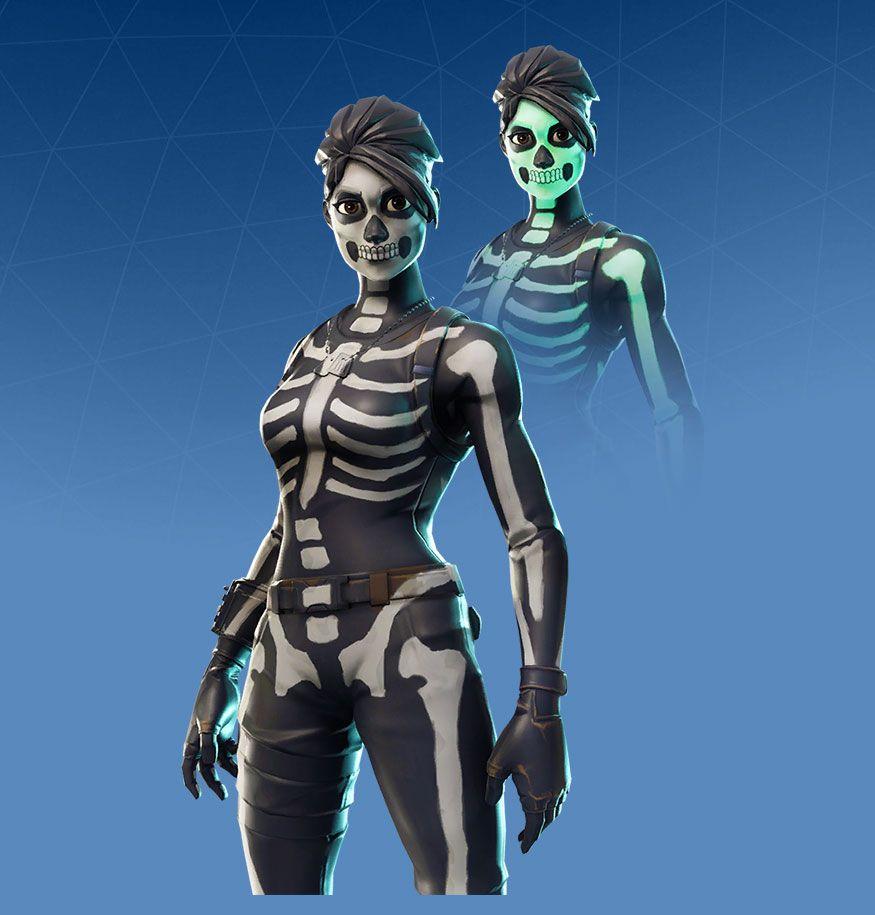Skull Ranger Fortnite Skins Characters Halloween Update