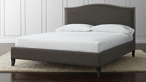 Colette Nickel California King Bed | Decor | Pinterest
