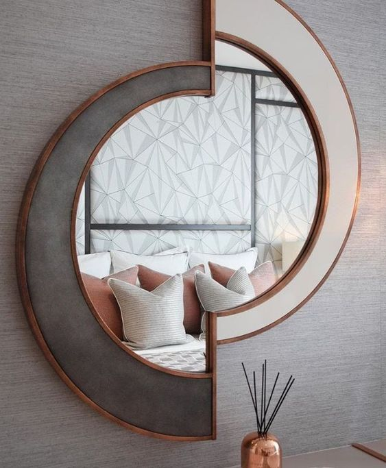 Amazing Mirror Design That You Can Add In Your Place To Make It Look Beautiful And Glamorous Gallery Wall Living Room Cool Walls Decor