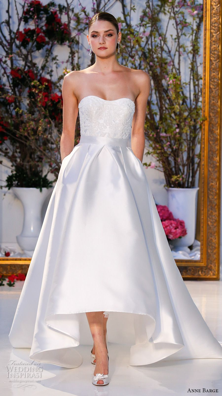 Anne barge spring wedding dresses anne barge chapel train