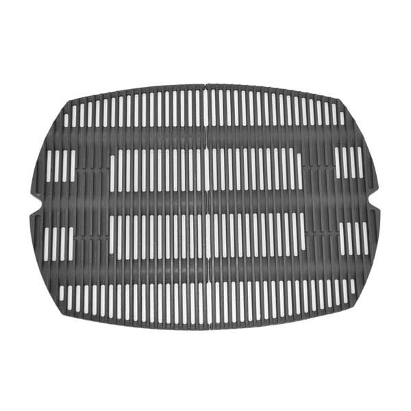Weber 7584 Cast Iron Cooking Grate For Weber Q 300 Series Gas Grills Set Of 2 Cast Iron Cooking Grilling Gas Grill