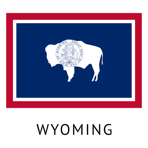 Wyoming State Flag Ad Aff Affiliate Flag State Wyoming In 2020 Wyoming State State Flags Material Design Background