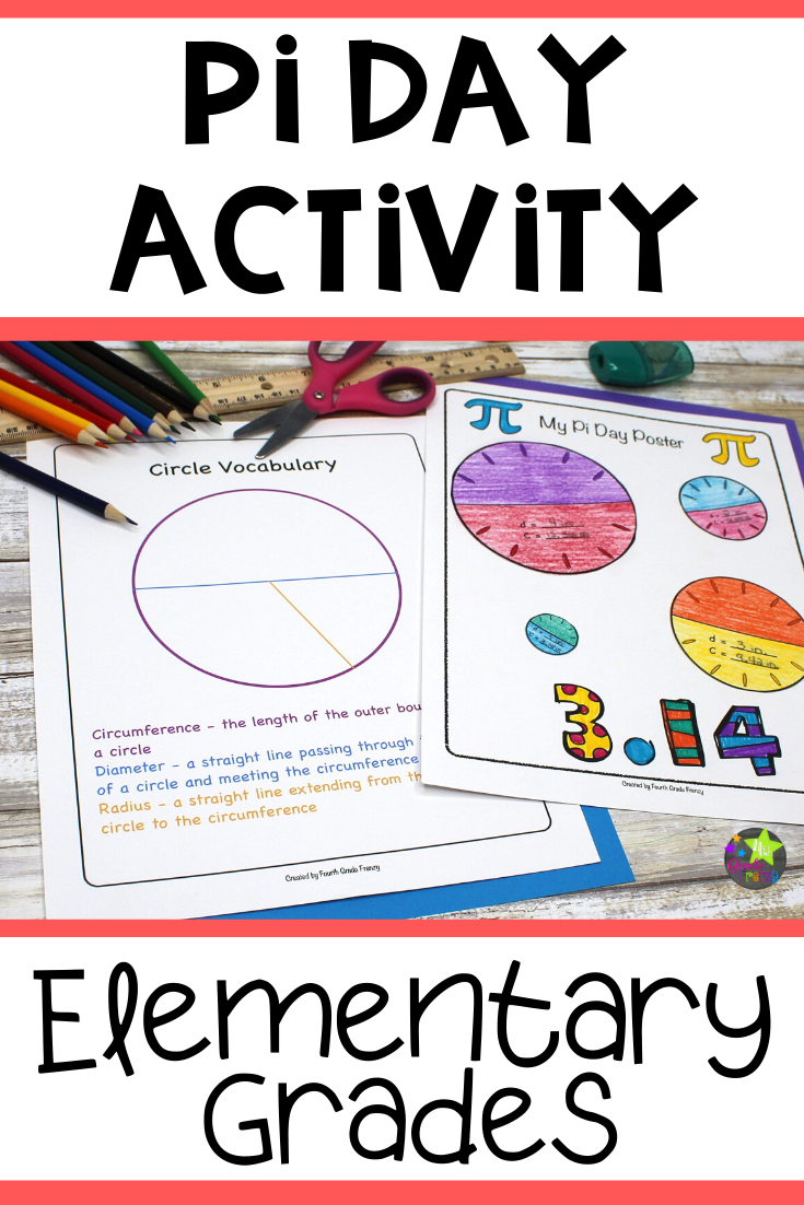 Pi Day Activity Pi Activities Free Math Lessons Elementary Grades