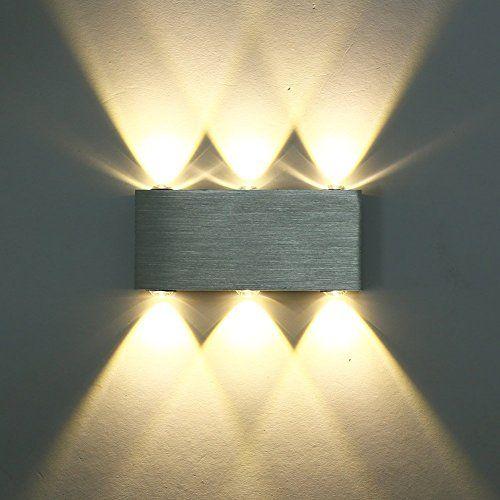 X Sunshine Modern Wall Lamp 6w 6 Led Spot Light Sconce Lighting Convex Mirror Led Wall Sconce Decor Fixture Light Lam Wall Lights Led Wall Lights Led Wall Lamp