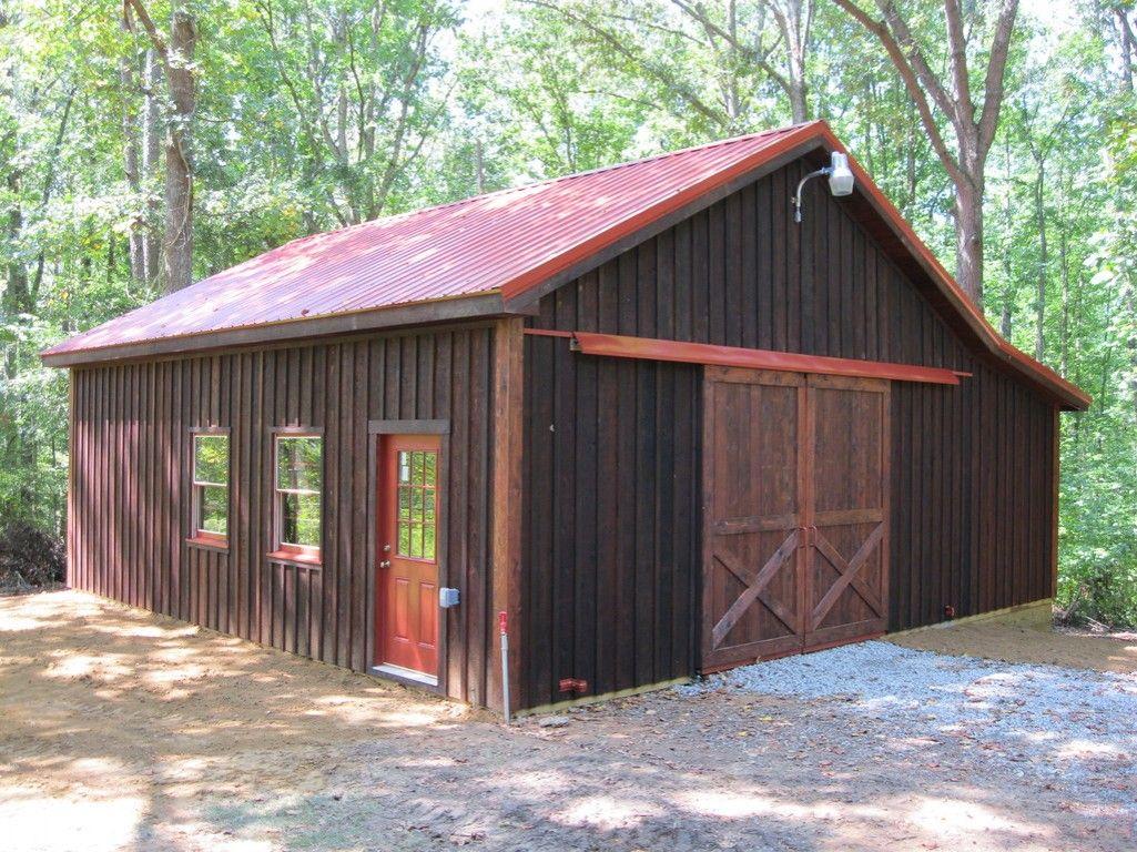 board and batten barns | 24x30 Board and batten barn in