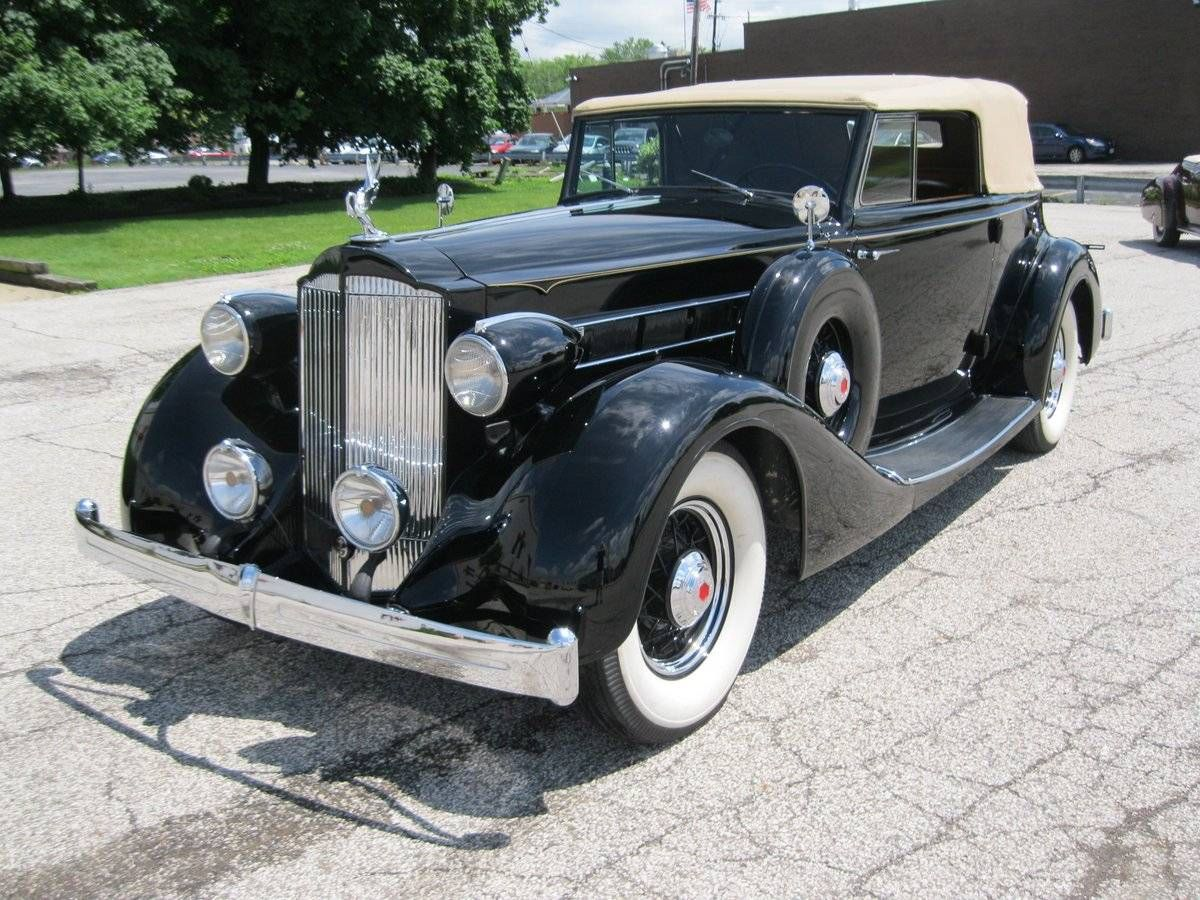 1935 Packard 1201 Eight Victoria Model 1201 Convertible Co for sale ...