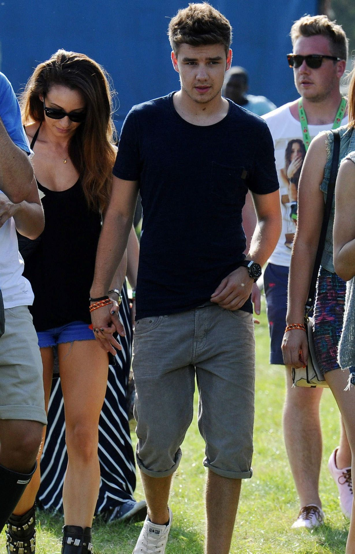 Liam and Danielle at the V festival | The girlfriends ...
