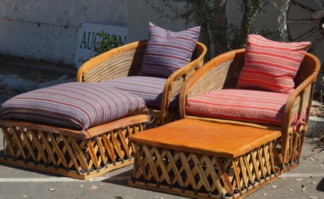 Equipale Mexican Leather Patio Furniture 4pcs Aug 25 2013