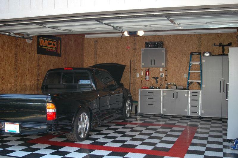 garage interior garage designs garage design steps to make the absolute most of the one car garage - Garage Design Ideas Pictures