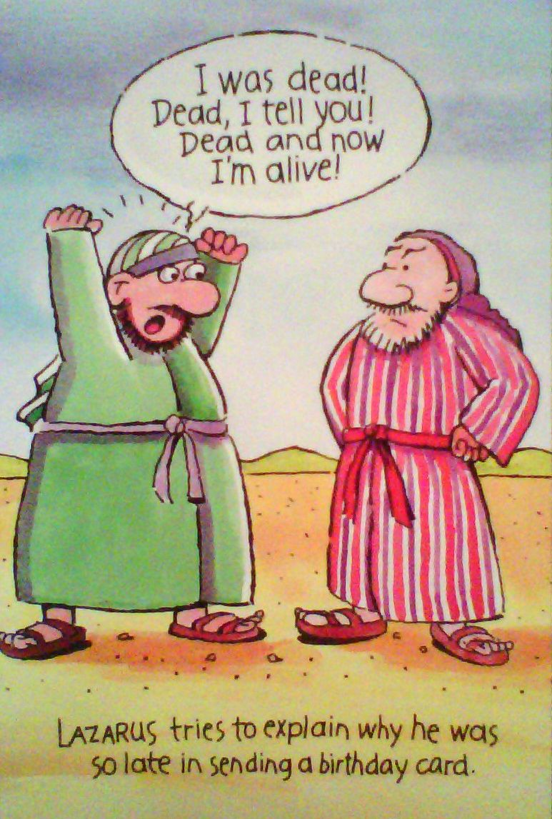 Oh Lazarus Funny Christian Memes Bible Humor Christian Humor