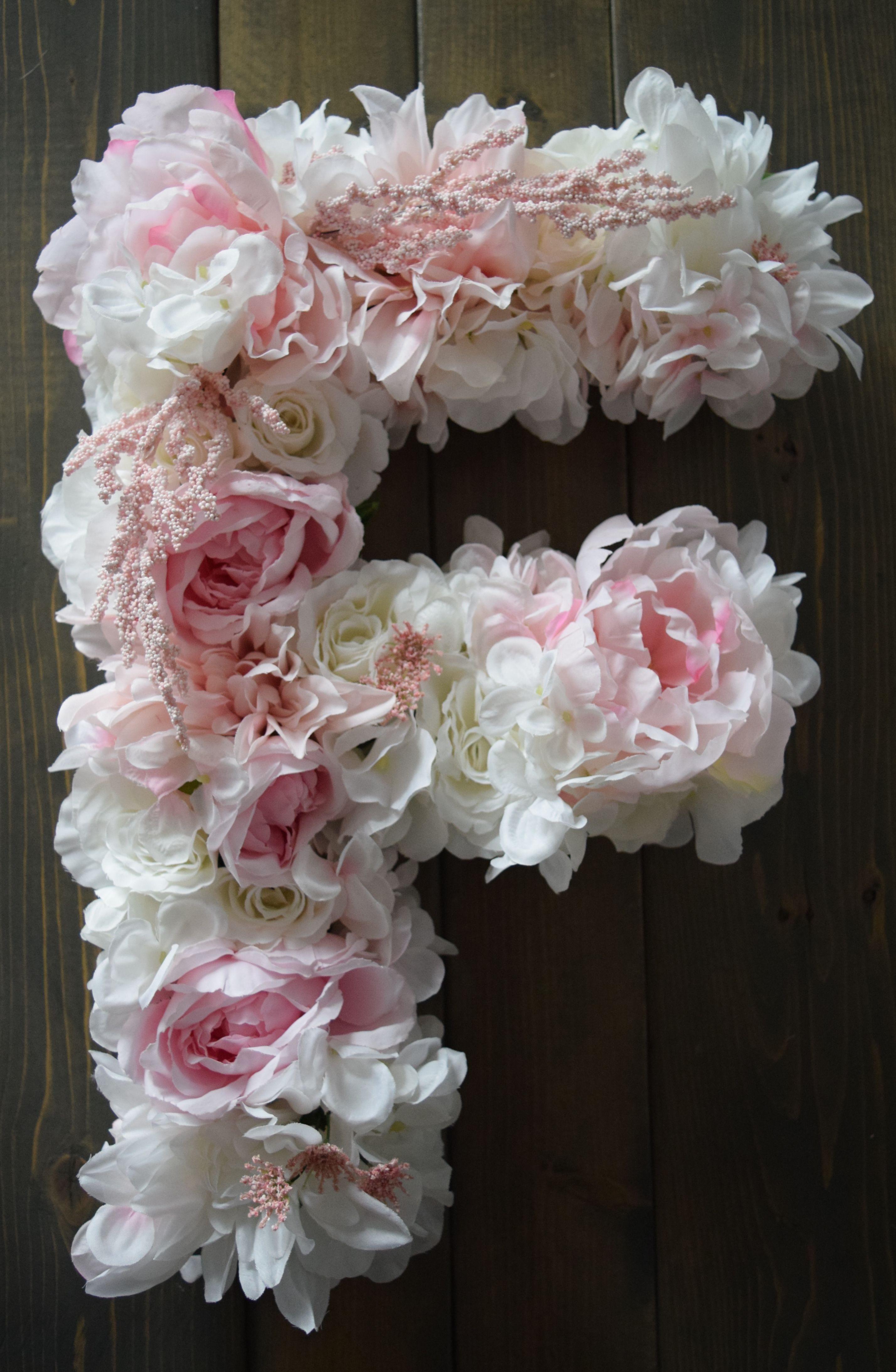 large flower letter large flower letter diy large flower letters initials large flower