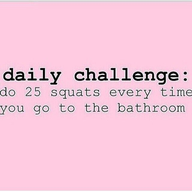 """Drop it like a SQUAT! Here's the perfect challenge for your weekend! Double tap to accept the challenge! #squat fitness #betterbooty #healthy…"""