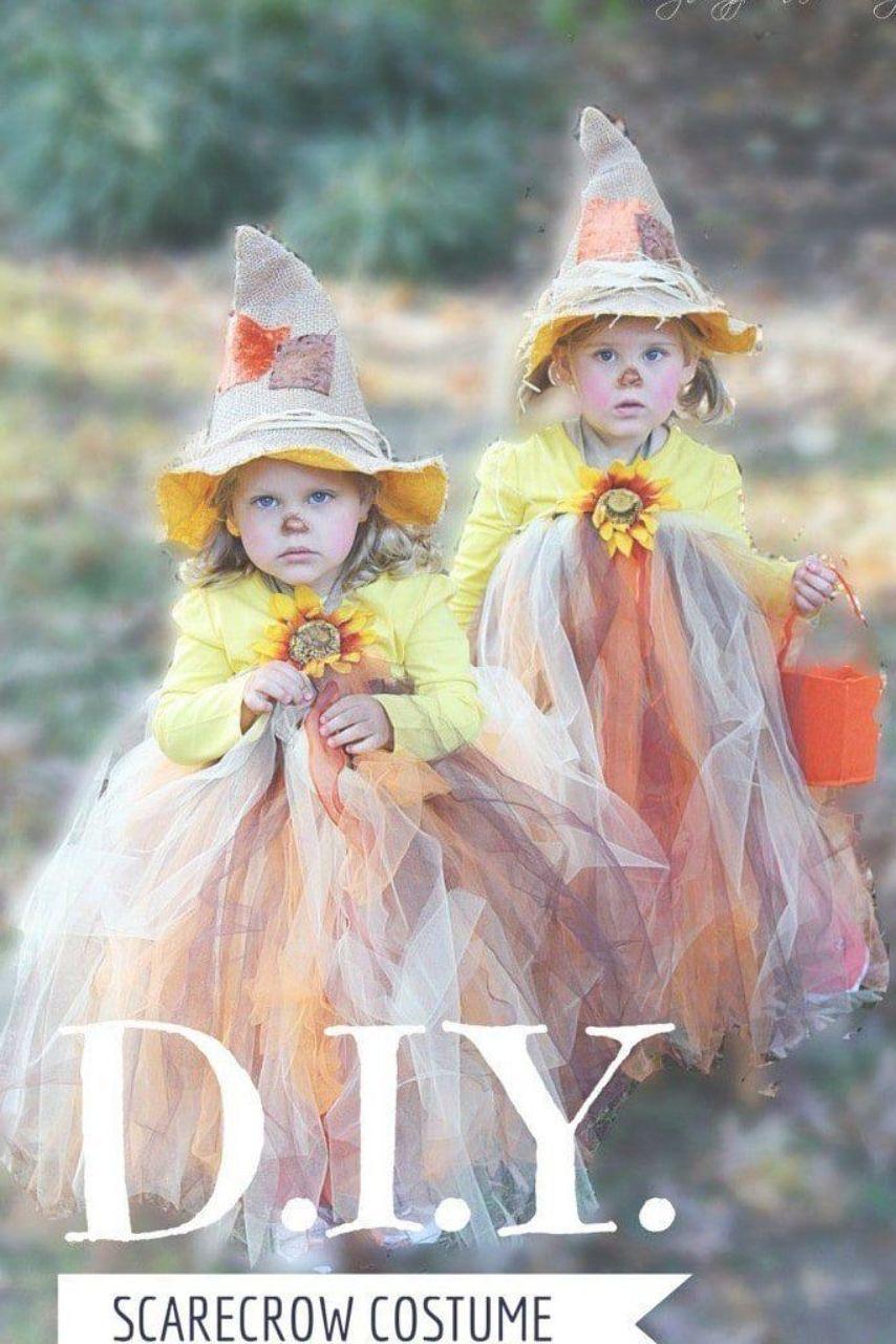 This scarecrow tutu is the cutest and easiest DIY costume! It is one of the best ideas out there for an adorable Halloween costume for your little girl. #littlegirlscarecrow #scarecrowtutu #tutucostume #diyhalloweencostume #DIYlittlegirlcostume #DIYscarecrow #cutescarecrowcostume #halloween #scarecrowcostumediy This scarecrow tutu is the cutest and easiest DIY costume! It is one of the best ideas out there for an adorable Halloween costume for your little girl. #littlegirlscarecrow #scarecrowtut #scarecrowcostumediy