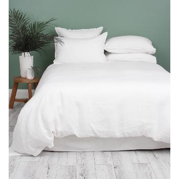 Wallace Cotton Double White Loft Linen Duvet Cover Set White Axdkay2jml2fo9lxrzqgyovsurhcp 5b5zsp6um Duvet Cover Sets Bed Linens Luxury Luxury Duvet Covers
