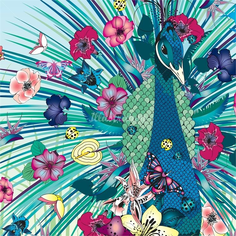 Nadia flower – beauty and graphic Illustrator for Fashion and all media