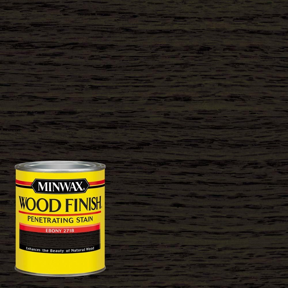 Minwax 1 qt wood finish ebony oil based interior stain 4 pack minwax 1 qt wood finish ebony oil based interior stain 4 pack blacks nvjuhfo Images